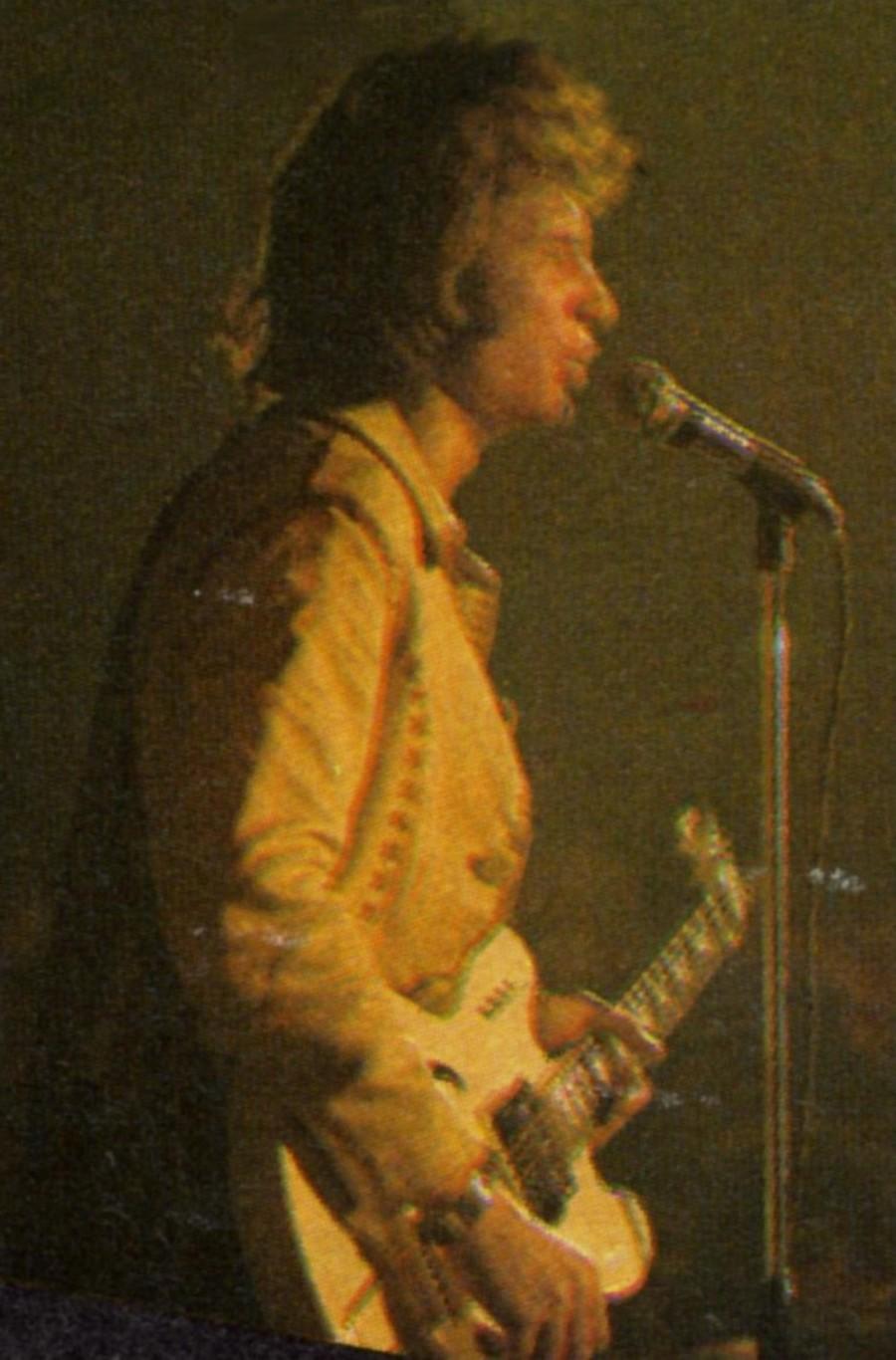 LES CONCERTS DE JOHNNY 'TOURNEE JOHNNY CIRCUS 1972' 72-g1310