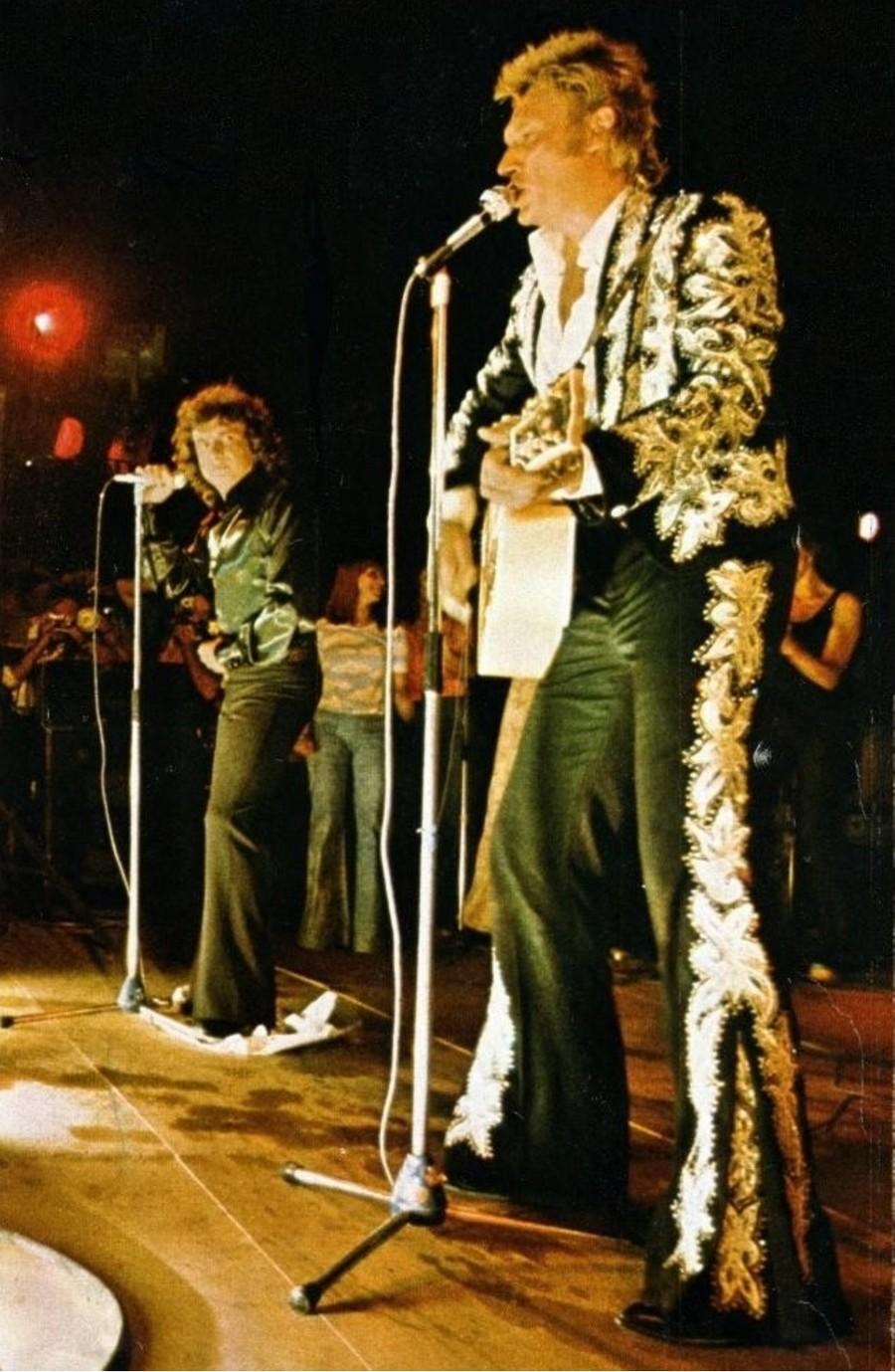 LES CONCERTS DE JOHNNY 'BEZIERS 1974' 74-g0215