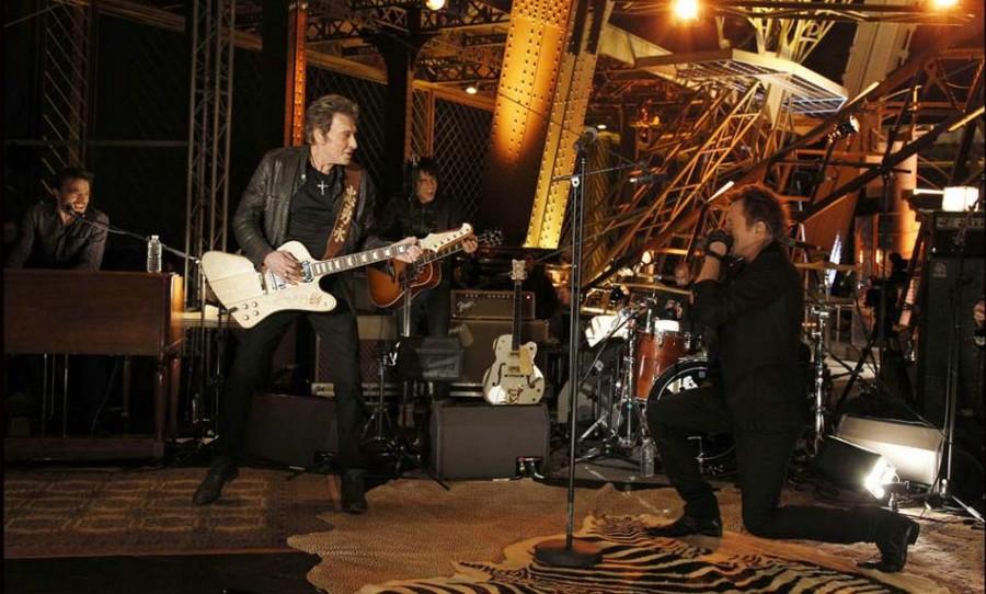 LES CONCERTS DE JOHNNY 'LA TOUR EIFFEL, PARIS 2011' 77604910