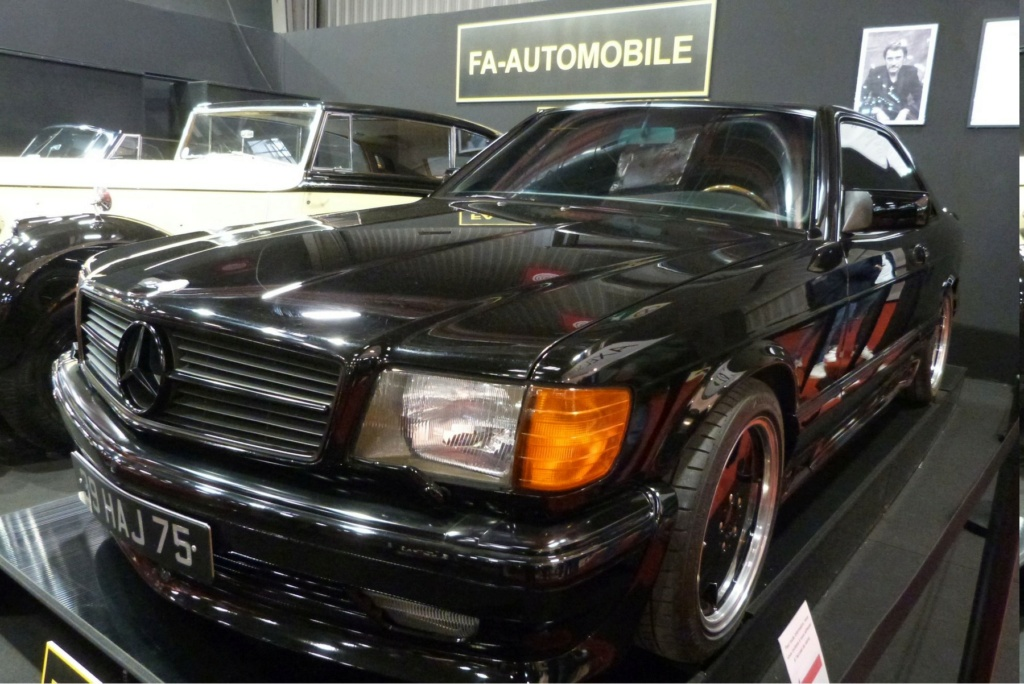 MERCEDES 560 SEC AMG DE JOHNNY HALLYDAY ( 1988 ) 7d2aaf10