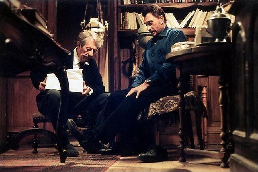 LES FILMS DE JOHNNY 'L'HOMME DU TRAIN' 2002 8-homm11