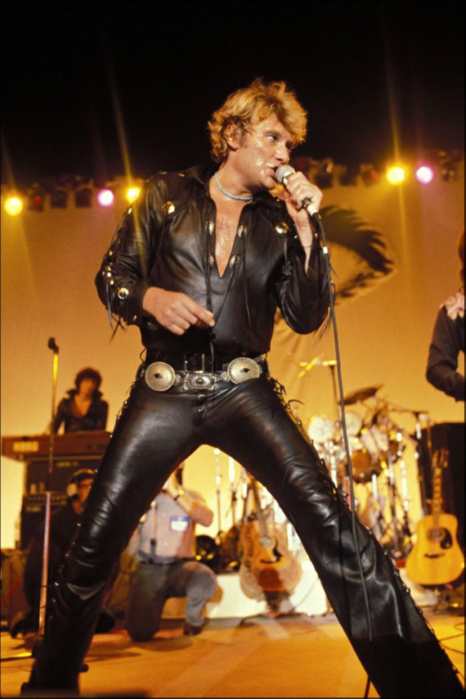 LES CONCERTS DE JOHNNY 'TOURNEE NIGHT RIDER BAND TOUR 1981' 81-g0116