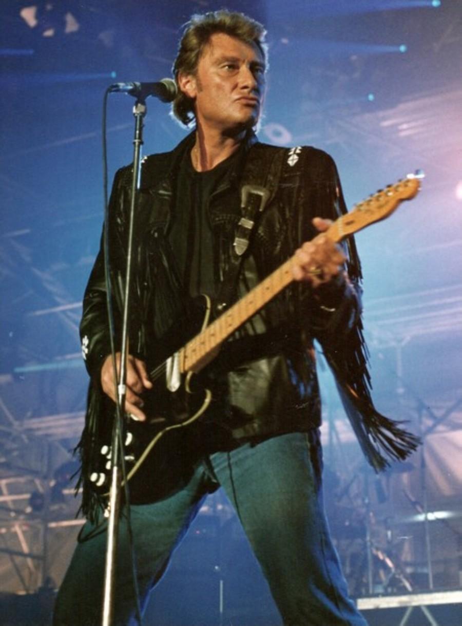 LES CONCERTS DE JOHNNY 'GENERATION ROCK N ROLL, PALAIS DES SPORTS 1989' 89-g0111