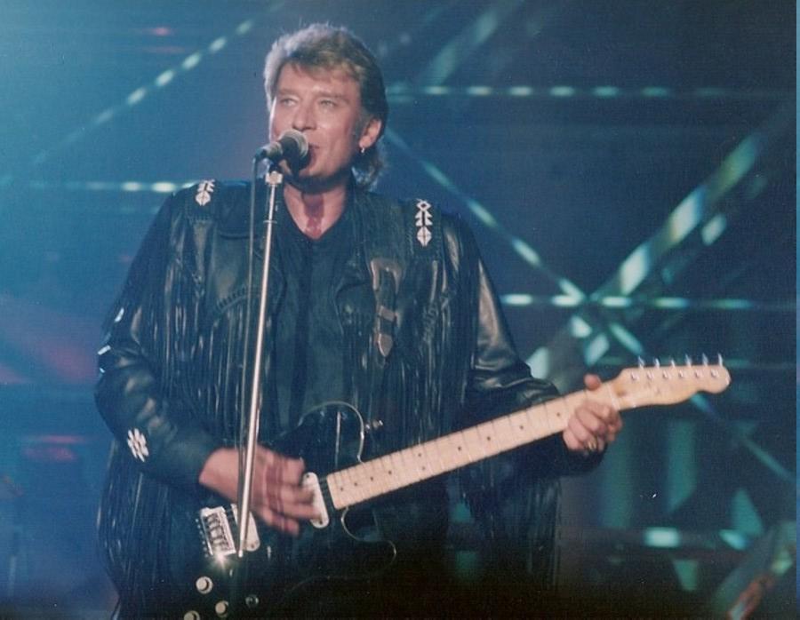 LES CONCERTS DE JOHNNY 'GENERATION ROCK N ROLL, PALAIS DES SPORTS 1989' 89-g0113