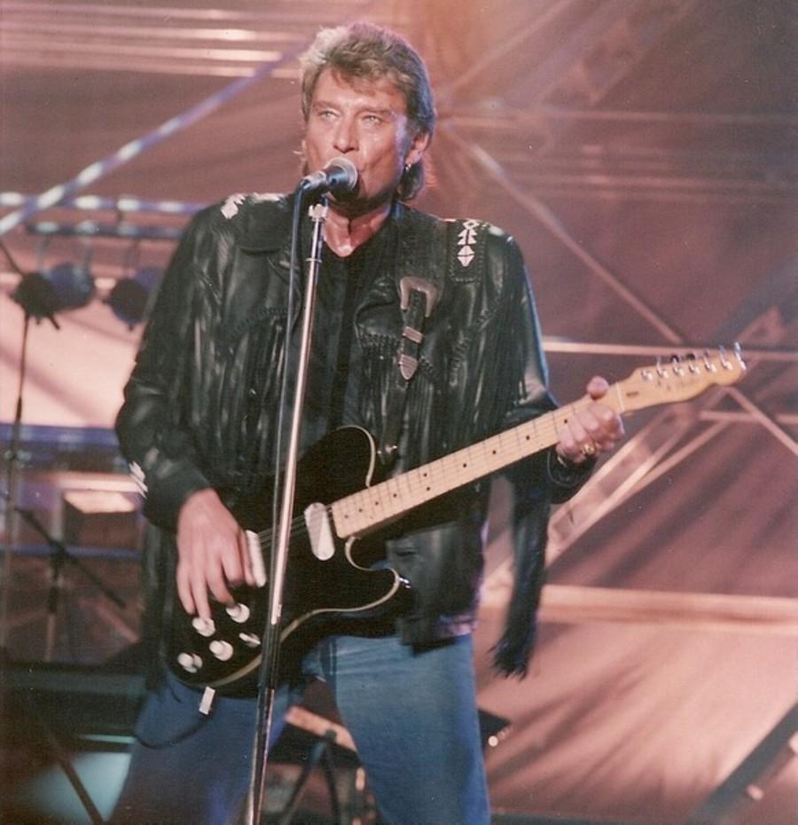 LES CONCERTS DE JOHNNY 'GENERATION ROCK N ROLL, PALAIS DES SPORTS 1989' 89-g0115