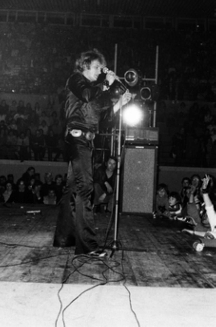 LES CONCERTS DE JOHNNY 'BESANCON 1971' Akg77019