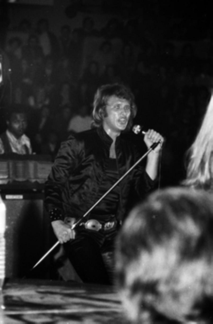 LES CONCERTS DE JOHNNY 'BESANCON 1971' Akg77028