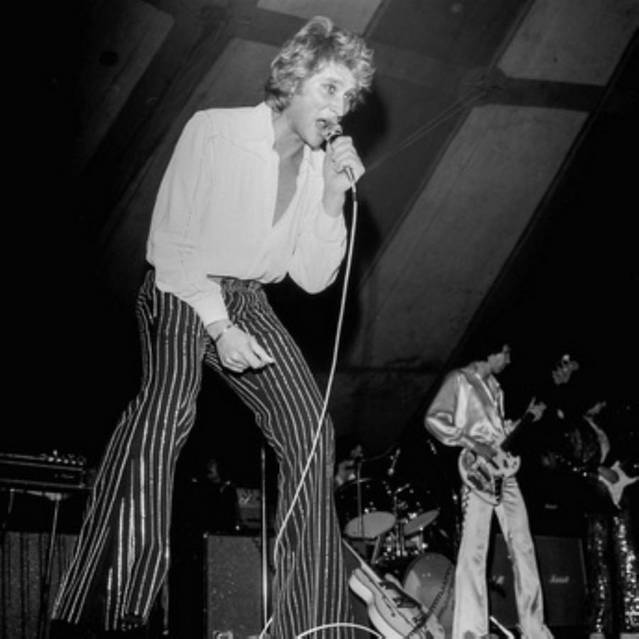 LES CONCERTS DE JOHNNY 'NANCY 1976' Akg77104