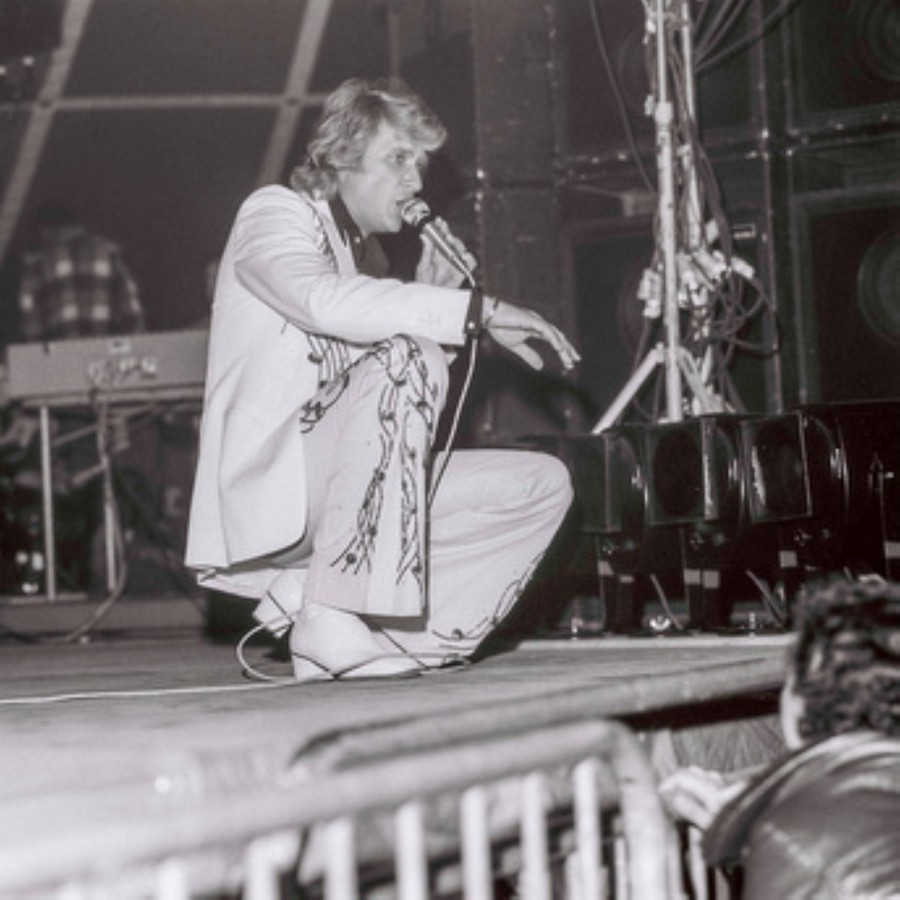 LES CONCERTS DE JOHNNY 'NANCY 1976' Akg77117