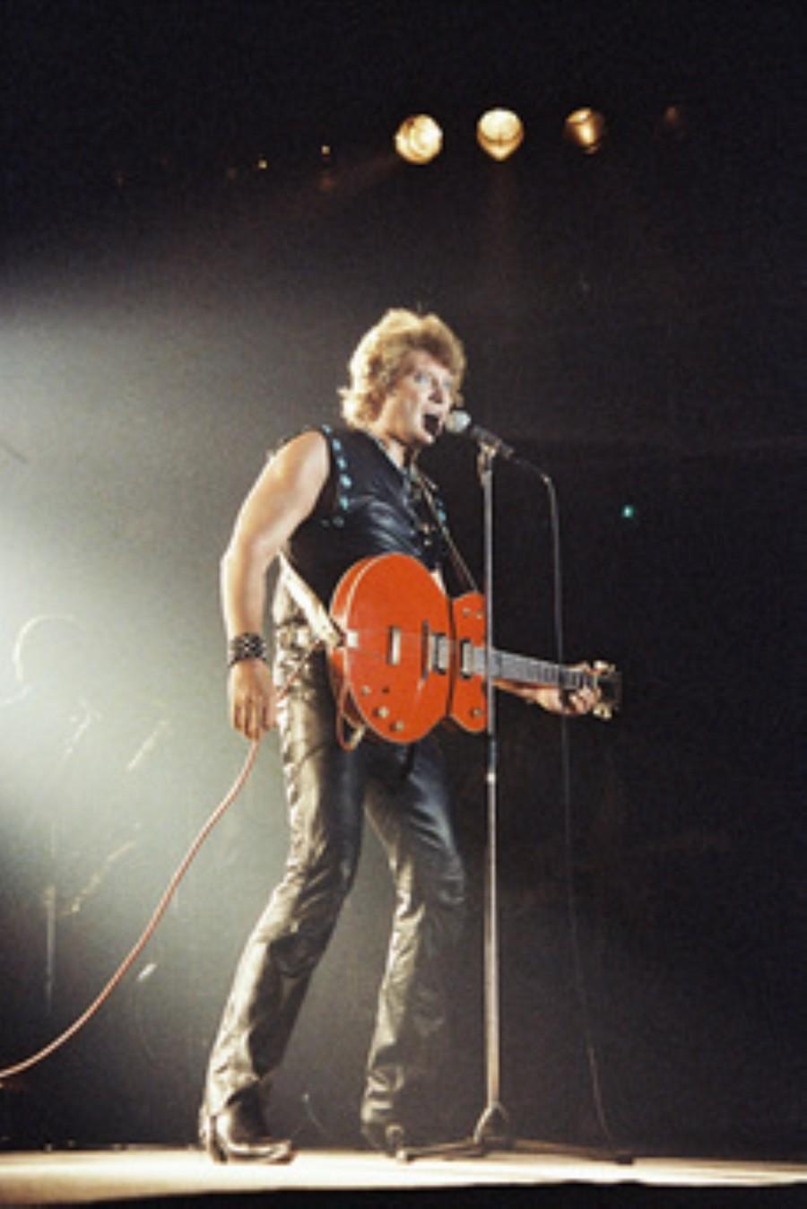 LES CONCERTS DE JOHNNY 'NANCY 1983' Akg77178