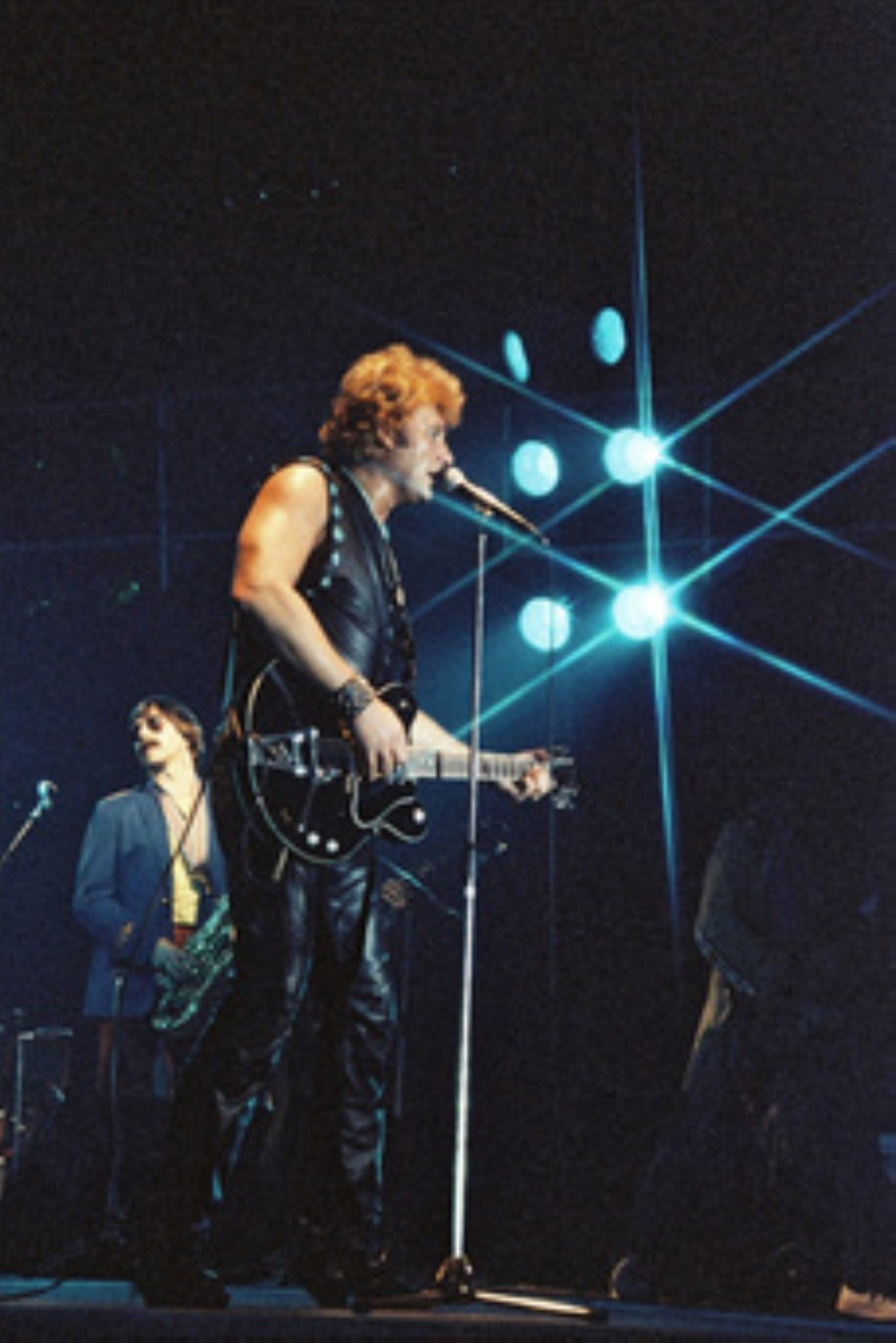 LES CONCERTS DE JOHNNY 'NANCY 1983' Akg77183