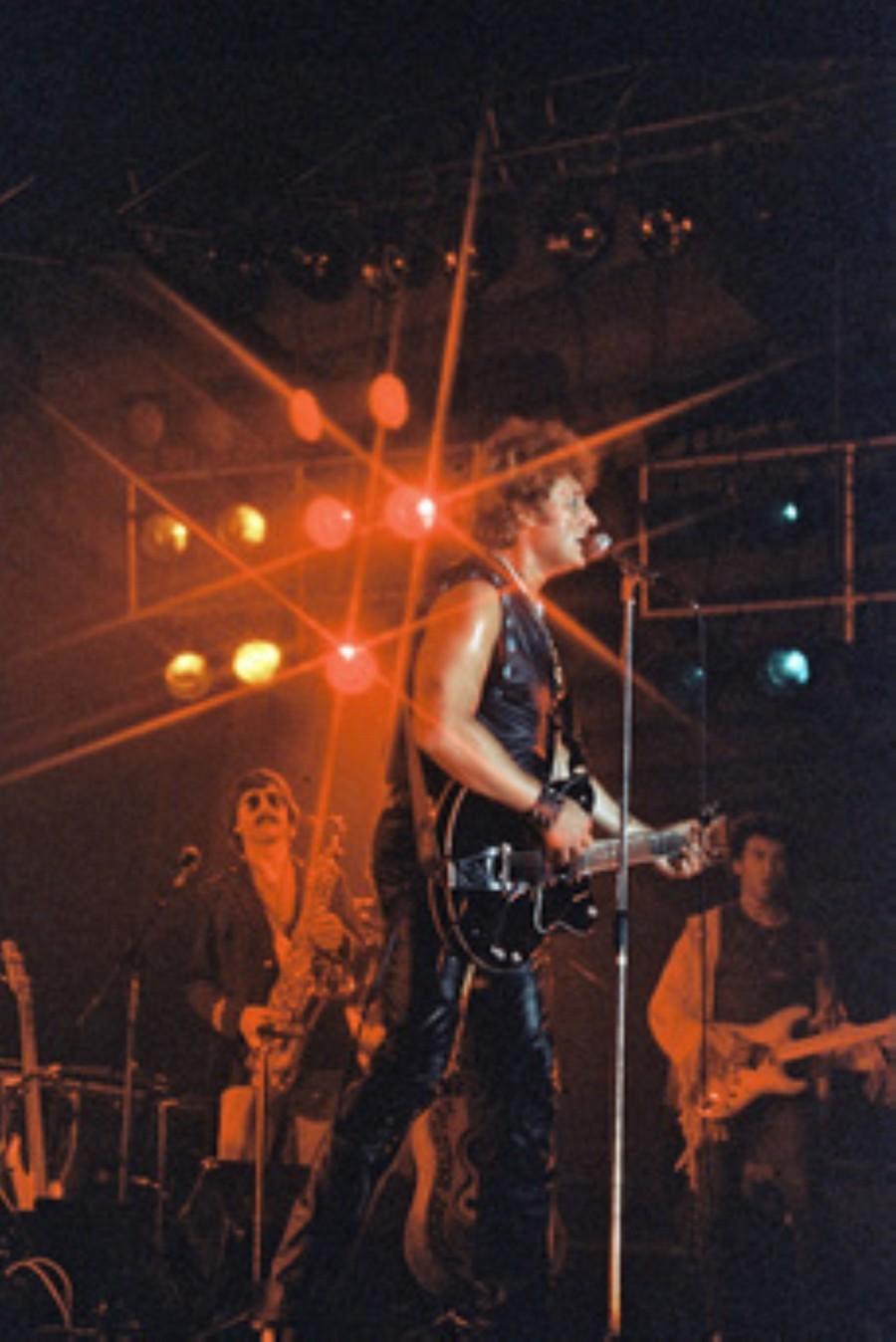 LES CONCERTS DE JOHNNY 'NANCY 1983' Akg77187