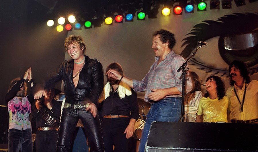 LES CONCERTS DE JOHNNY 'TOURNEE NIGHT RIDER BAND TOUR 1981' Akg83511