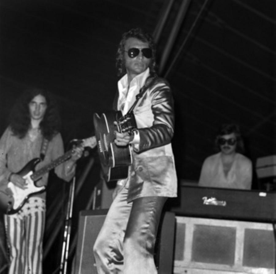 LES CONCERTS DE JOHNNY 'TOURNEE JOHNNY CIRCUS 1972' Akg89012