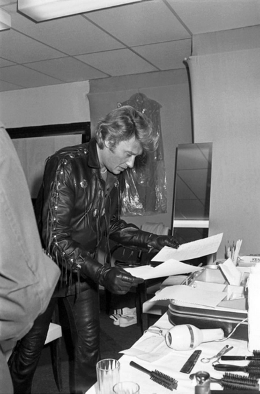 LES CONCERTS DE JOHNNY 'NANTES 1981' Captu138