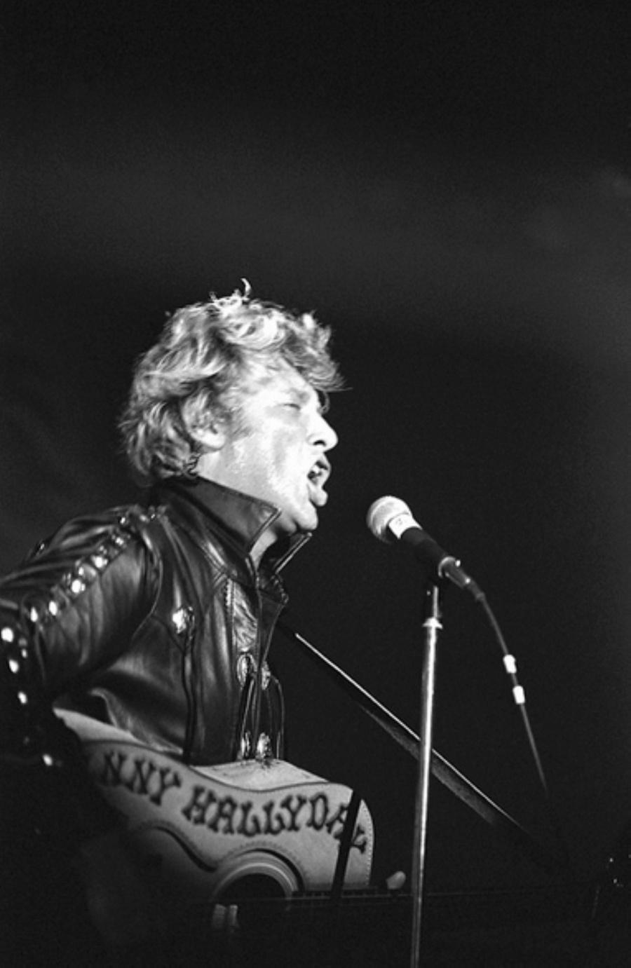 LES CONCERTS DE JOHNNY 'NANTES 1981' Captu151