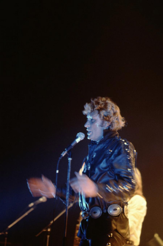 LES CONCERTS DE JOHNNY 'NANTES 1981' Captu154