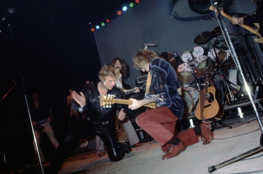 LES CONCERTS DE JOHNNY 'NANTES 1981' Captu156