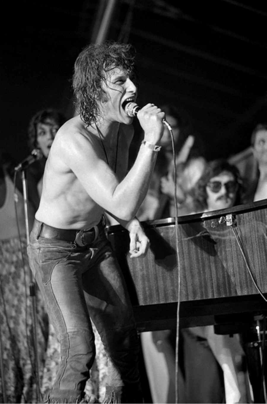 LES CONCERTS DE JOHNNY 'TOURNEE JOHNNY CIRCUS 1972' Captu160