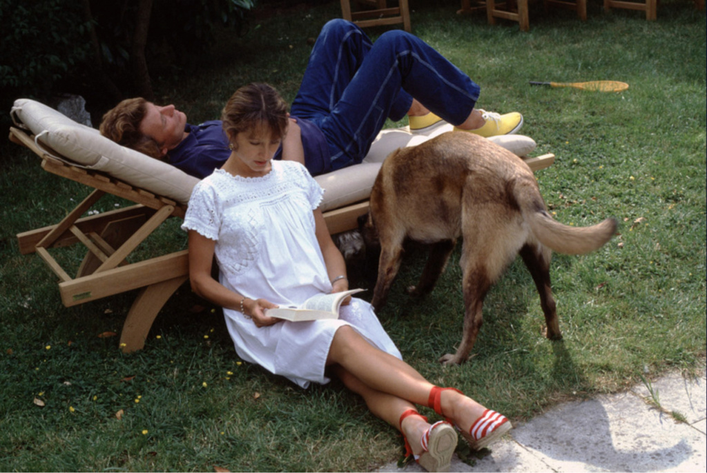PROPRIETE OU A RESIDE JOHNNY HALLYDAY ( 5/10 ) 'L'ETANG LA VILLE' ( 1982-1986 ) Captu173