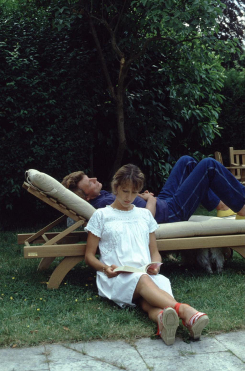 PROPRIETE OU A RESIDE JOHNNY HALLYDAY ( 5/10 ) 'L'ETANG LA VILLE' ( 1982-1986 ) Captu176