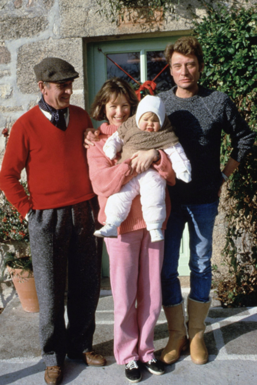 PROPRIETE OU A RESIDE JOHNNY HALLYDAY (8 /10 ) 'VALLIERE, CREUSE' ( 1982-1986 ) Captu186