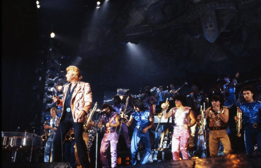 LES CONCERTS DE JOHNNY 'PALAIS DES SPORTS DE PARIS 1982' Captu194
