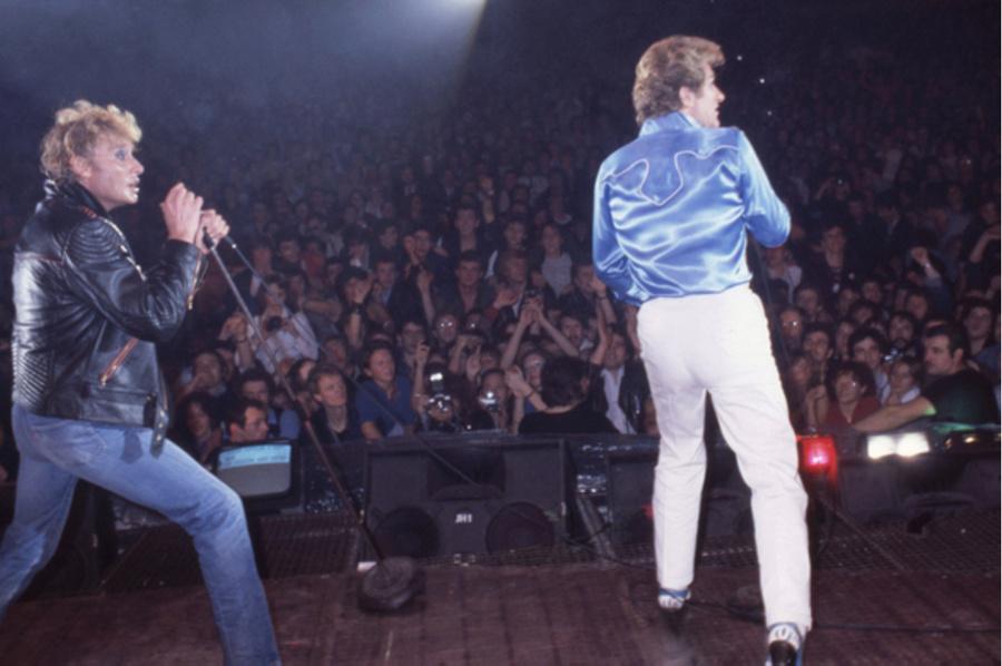 LES CONCERTS DE JOHNNY 'PALAIS DES SPORTS DE PARIS 1982' Captu201