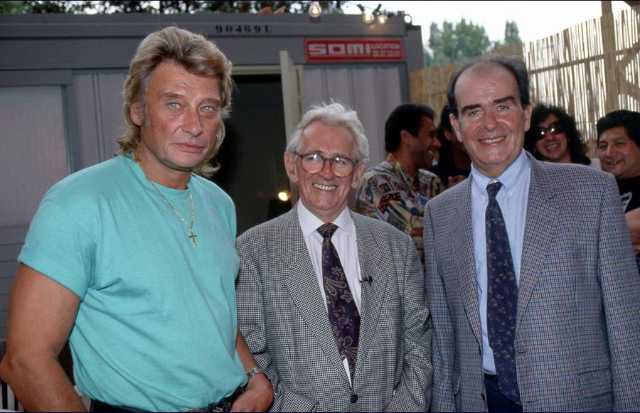 LES CONCERTS DE JOHNNY 'FETE DE L'HUMANITE, LA COURNEUVE 1991' Captu265