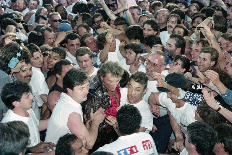 LES CONCERTS DE JOHNNY 'PARC DES PRINCES, PARIS 1993' Captu293