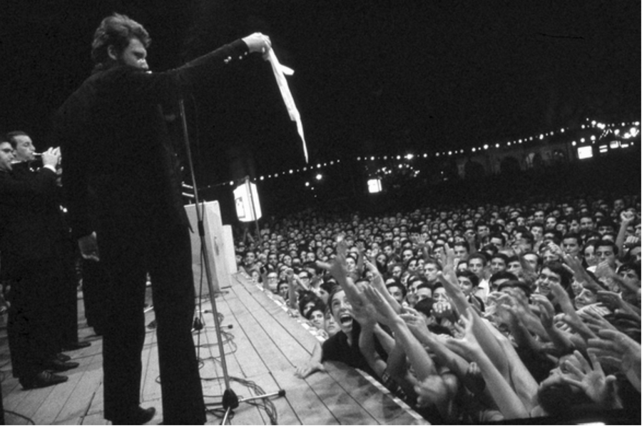 LES CONCERTS DE JOHNNY 'ROSARIO, ARGENTINE 1967' Captu297