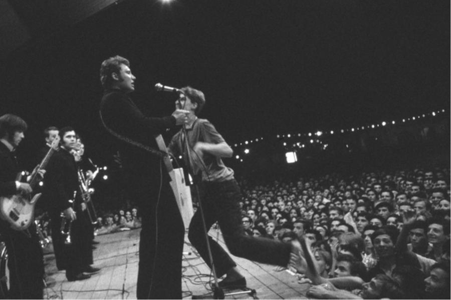 LES CONCERTS DE JOHNNY 'ROSARIO, ARGENTINE 1967' Captu298
