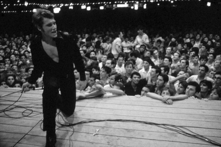 LES CONCERTS DE JOHNNY 'ROSARIO, ARGENTINE 1967' Captu303