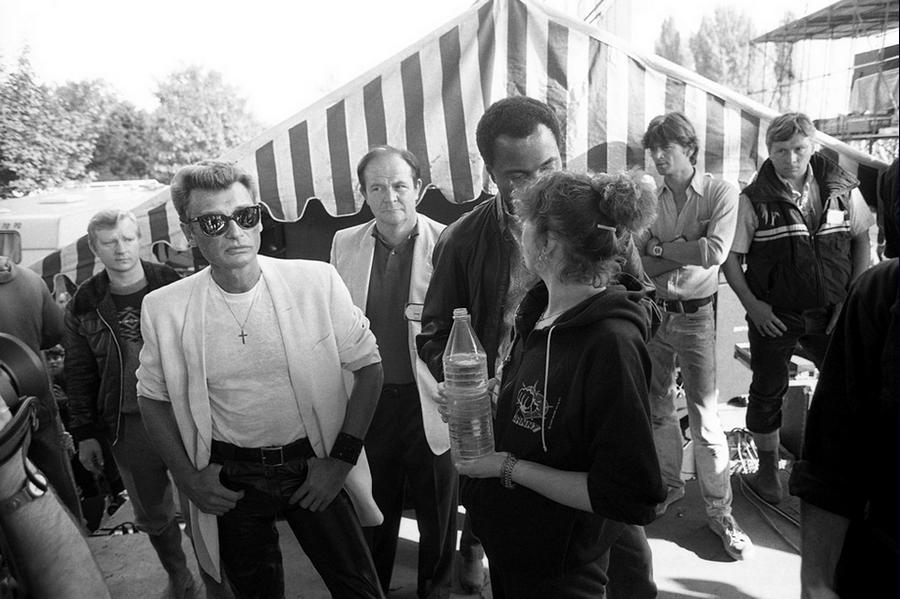 LES CONCERTS DE JOHNNY 'FETE DE L'HUMANITE, LA COURNEUVE 1985' Captu333
