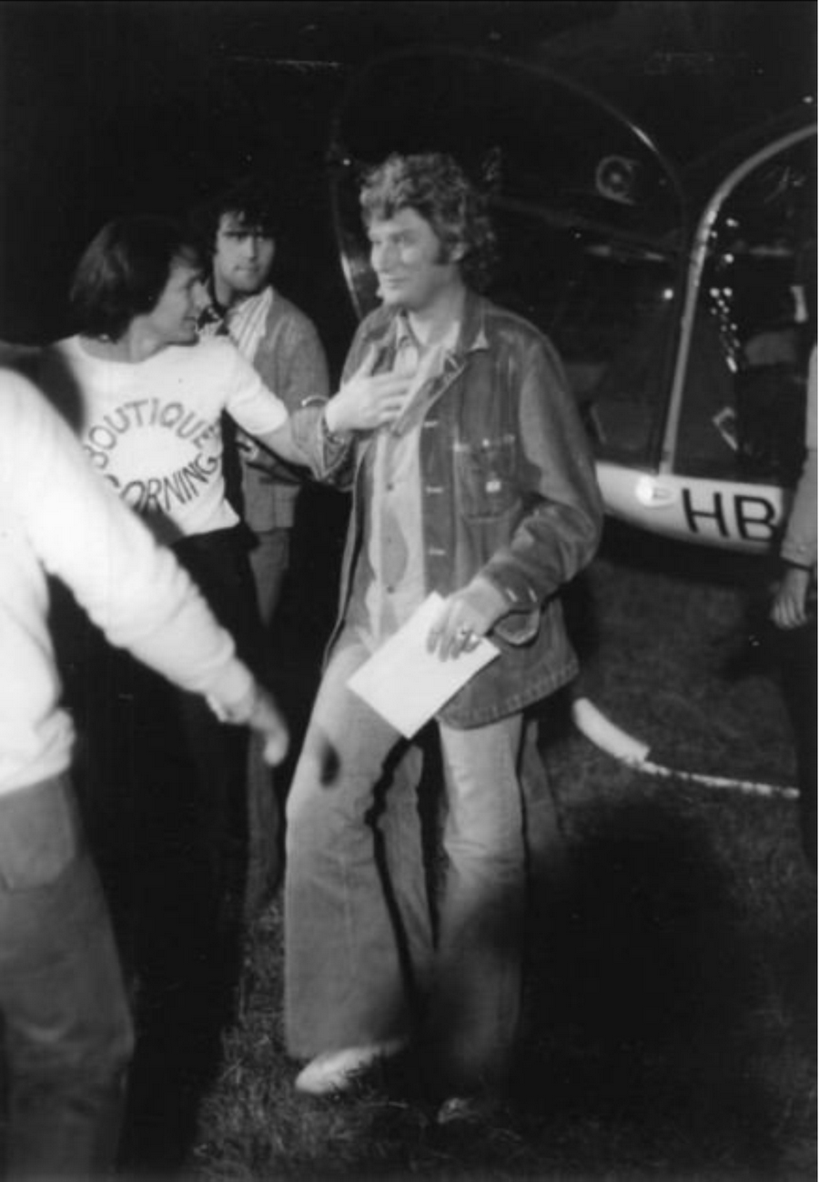 LES CONCERTS DE JOHNNY 'FRIBOURG, SUISSE 1978' Captu392