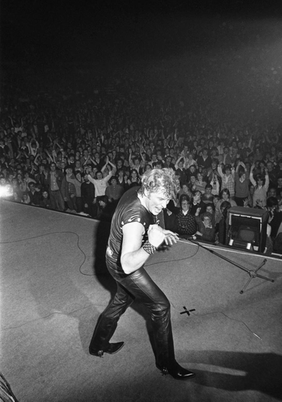 LES CONCERTS DE JOHNNY 'LILLE 1982' Captu405