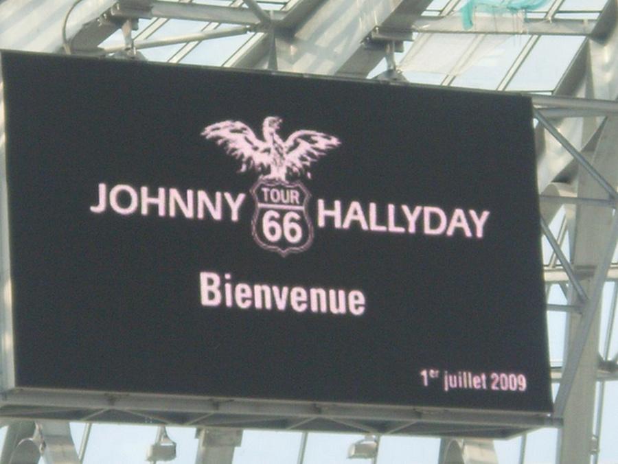 LES CONCERTS DE JOHNNY 'GRENOBLE 2009' Captu464