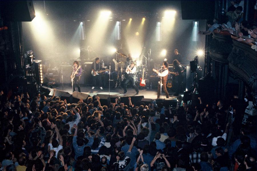 LES CONCERTS DE JOHNNY 'LA CIGALE, PARIS 1994' Captu493