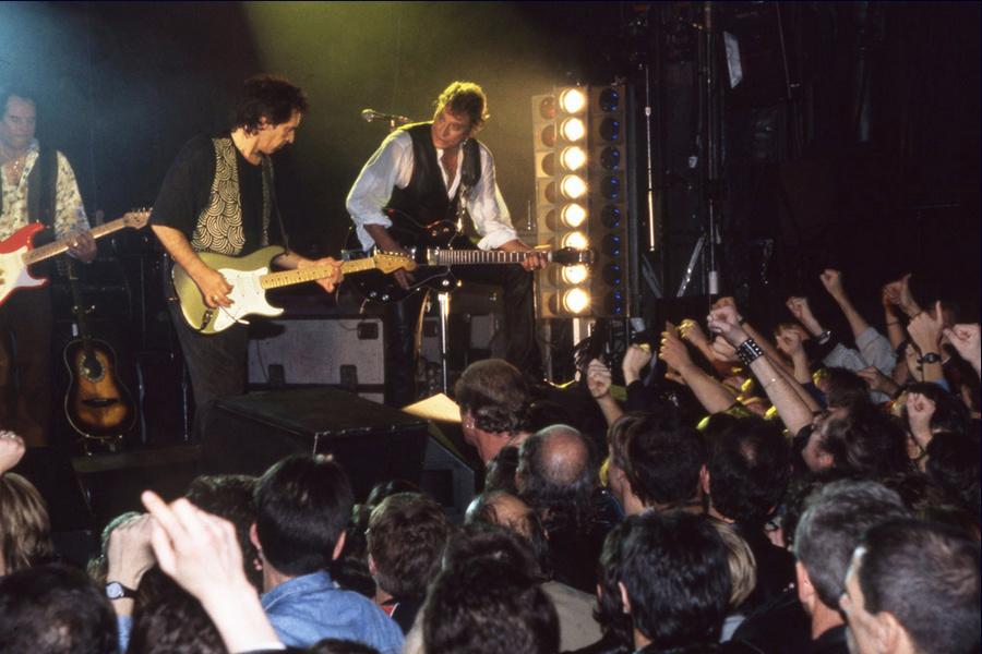 LES CONCERTS DE JOHNNY 'LA CIGALE, PARIS 1994' Captu496