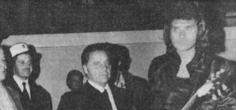 LES CONCERTS DE JOHNNY 'BESANCON 1971' Captu506