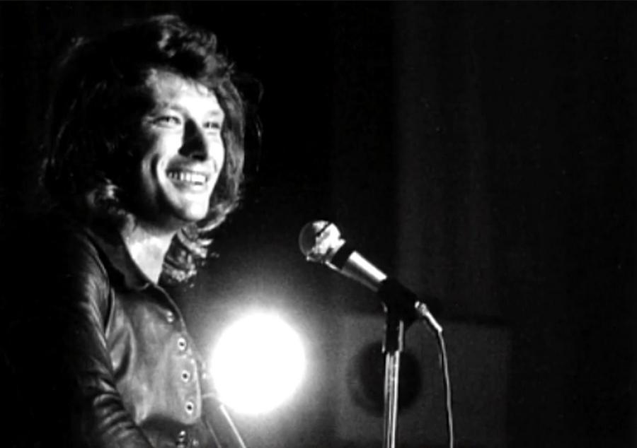 LES CONCERTS DE JOHNNY 'BESANCON 1971' Captu507