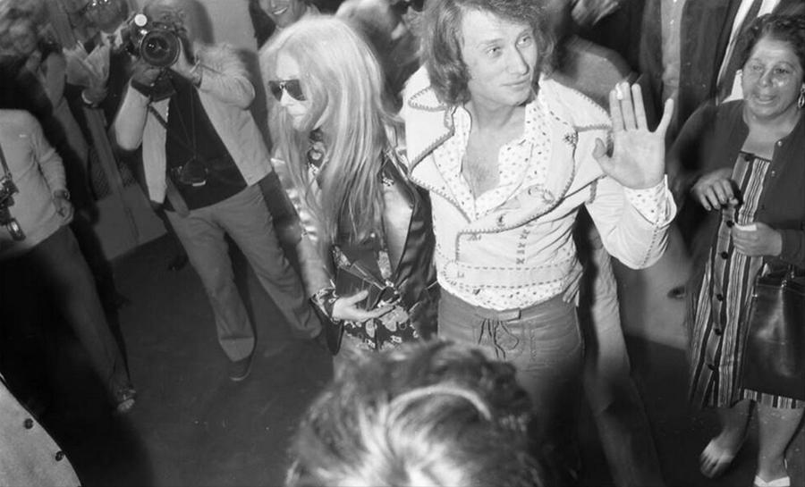 LES CONCERTS DE JOHNNY 'TOURNEE JOHNNY CIRCUS 1972' Captu535