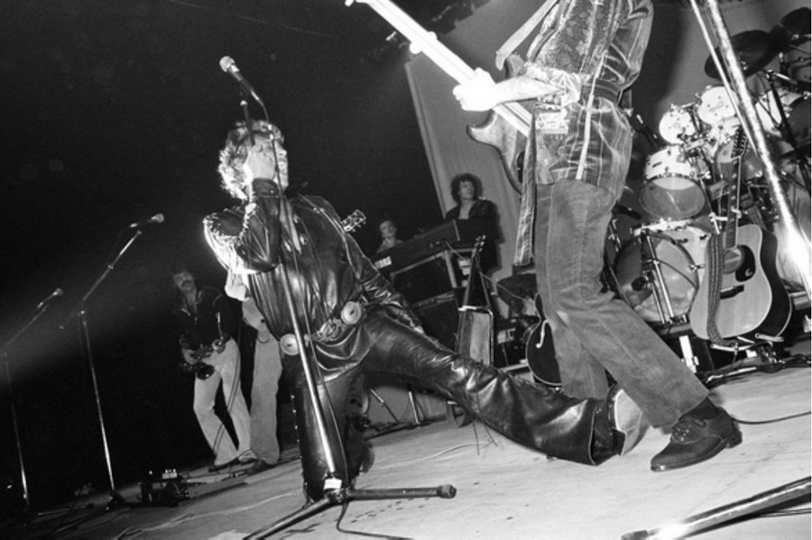 LES CONCERTS DE JOHNNY 'TOURNEE NIGHT RIDER BAND TOUR 1981' Captu554