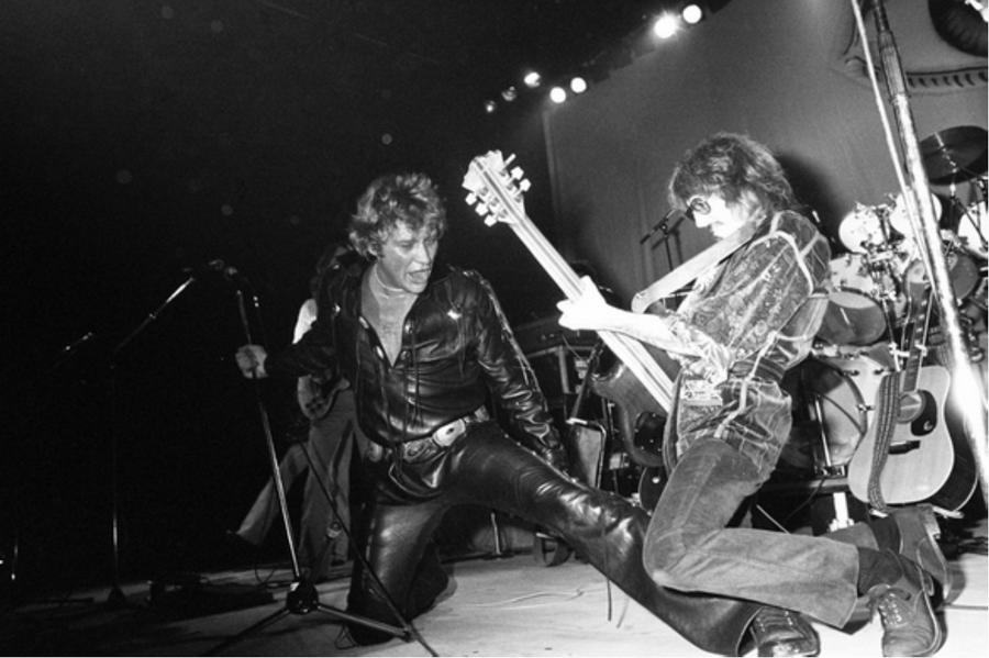 LES CONCERTS DE JOHNNY 'TOURNEE NIGHT RIDER BAND TOUR 1981' Captu556
