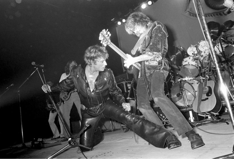 LES CONCERTS DE JOHNNY 'TOURNEE NIGHT RIDER BAND TOUR 1981' Captu557