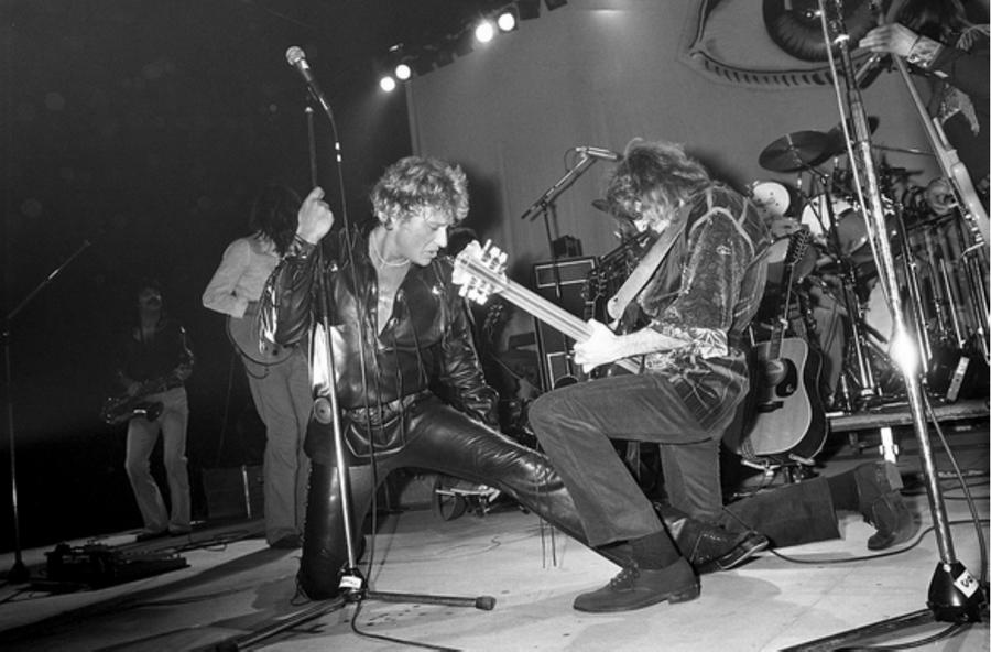 LES CONCERTS DE JOHNNY 'TOURNEE NIGHT RIDER BAND TOUR 1981' Captu558