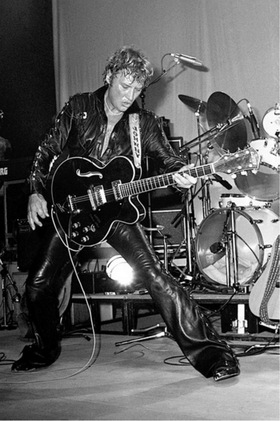 LES CONCERTS DE JOHNNY 'TOURNEE NIGHT RIDER BAND TOUR 1981' Captu893