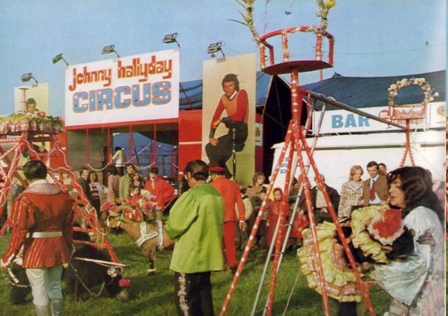 LES CONCERTS DE JOHNNY 'TOURNEE JOHNNY CIRCUS 1972' Circus14