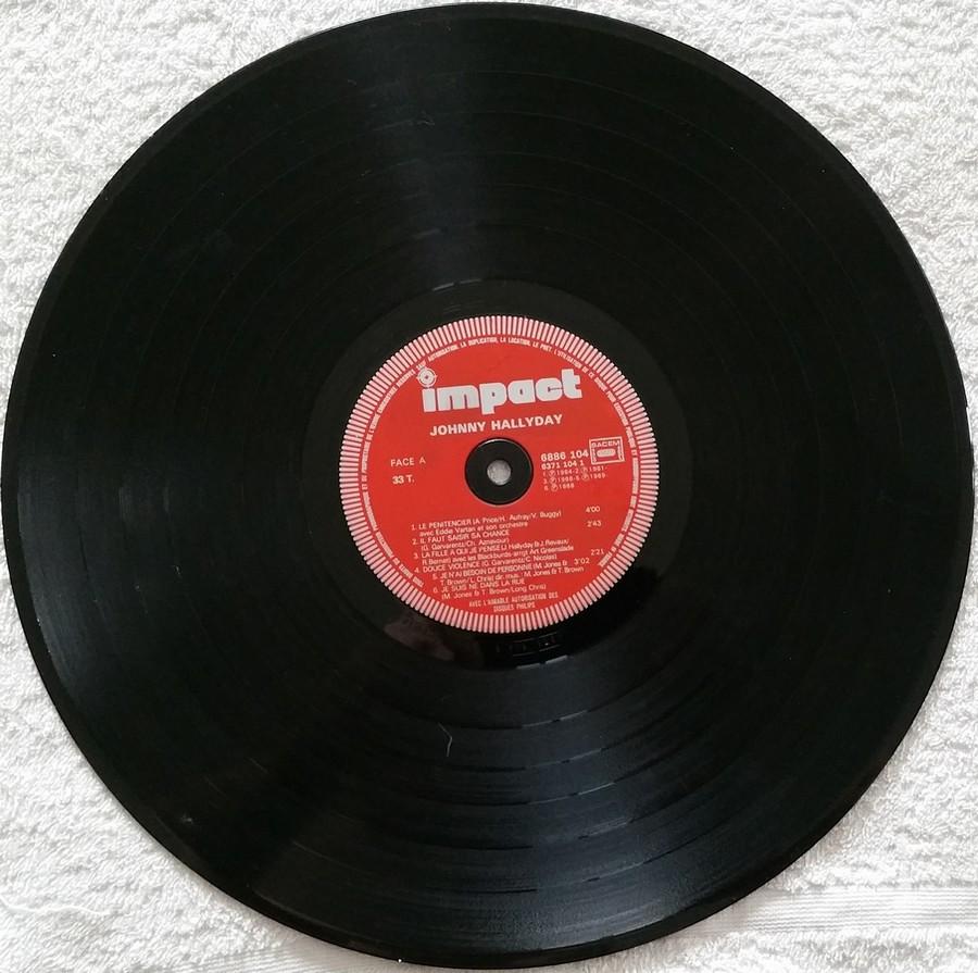 COFFRET 4 DISQUES 33 TOURS IMPACT ( 1980-1983 ) Coffre14