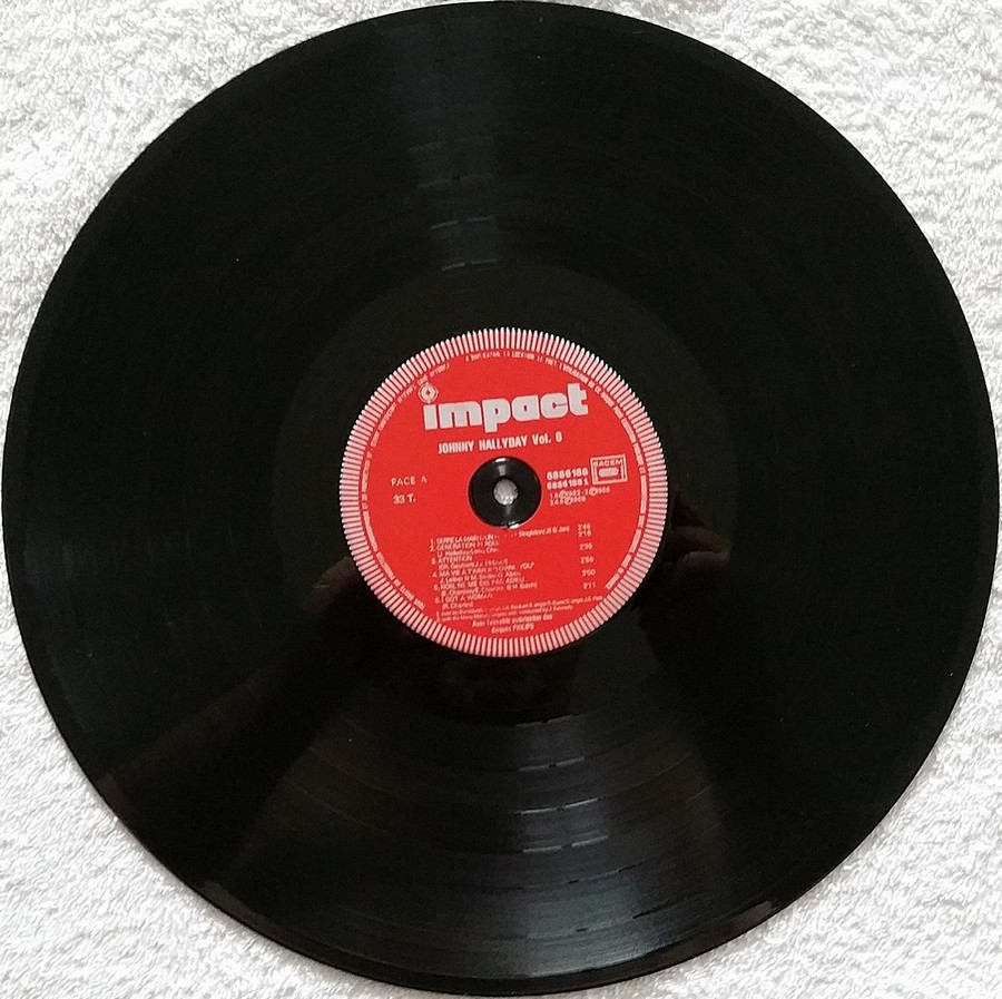 COFFRET 4 DISQUES 33 TOURS IMPACT ( 1980-1983 ) Coffre18
